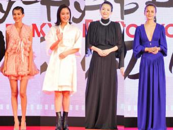 第32回東京国際映画祭レッドカーペット_世界の美が集結